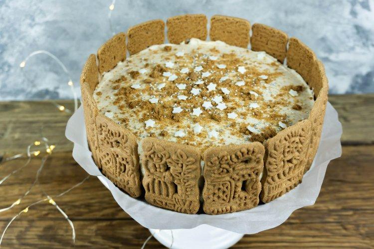 No-Bake-Spekulatius-Torte