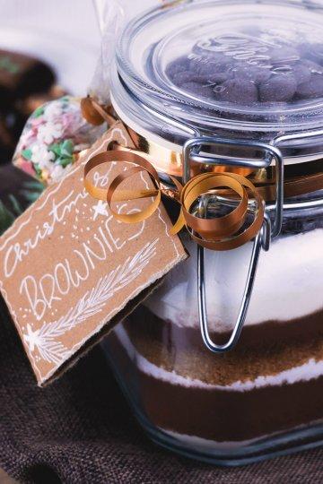 Backmischung-Christmas-Brownies