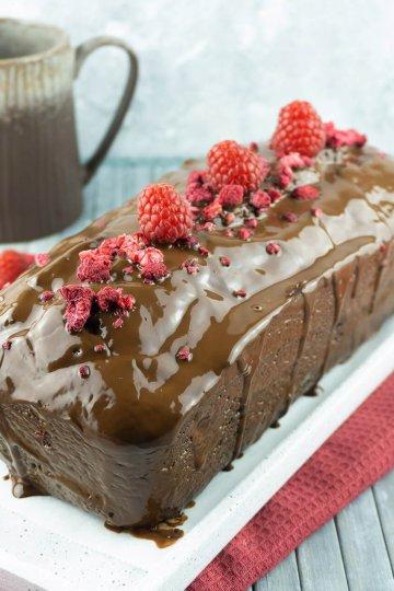 Schoko-Himbeer-Kuchen