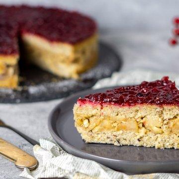 birnen-preiselbeer-torte