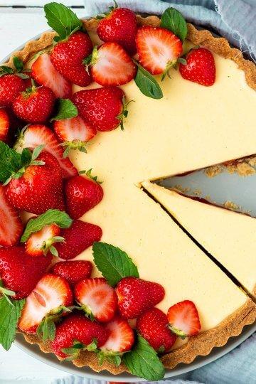 erdbeer-vanille-tarte