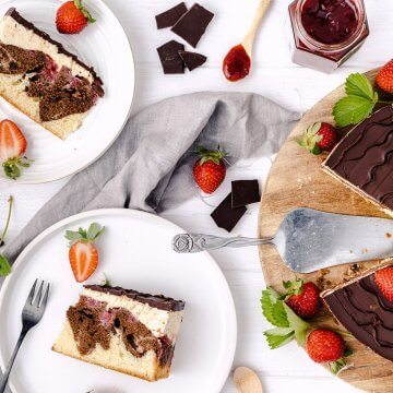 erdbeer-donauwellen-torte