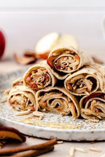 Apfelstrudel Crepes